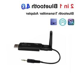 3.5mm Audio AUX to Bluetooth Wireless Adapter Transmitter fo