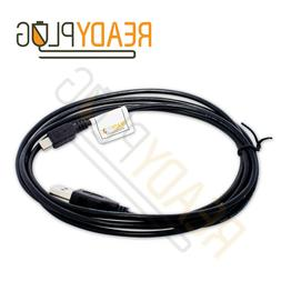 6 ft ReadyPlug USB Cable for CB3 Audio Hush Noise Cancelling