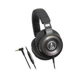 Audio-Technica Solid Bass Over-Ear Headphones with In-line M