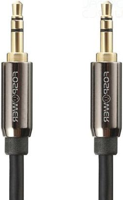 FosPower  3.5mm  24k Gold Plated Connectors Stereo AUX Jack