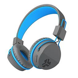 JLAB - JBuddies Studio Wireless On-Ear Headphones - Gray/blu