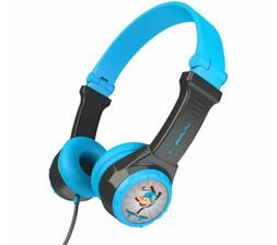 JLab Audio JBuddies | Folding Wired Headphones for Kids - Bl