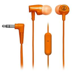 Audio-Technica In-Ear Headphones with In-line Mic & Control