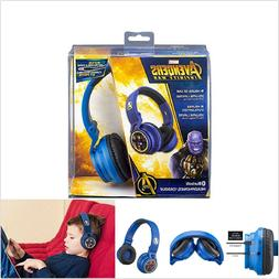 Avengers Bluetooth Wireless Headphones For Kids Rechargeable