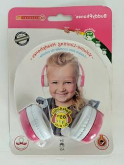 BuddyPhones Connect - Volume Limiting Wired Kids Foldable He