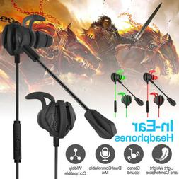 G6 Gaming Headset Wired Headphone In-ear Earbuds Bass 3D Sou