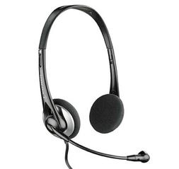 Headset Headphones with Noise-cancelling Mic for Laptop Desk