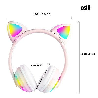 Cat Ear Audio Stereo Headsets For