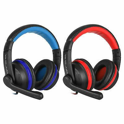 Ergonomic Gaming Stereo Headphone PS4 iPad Cell