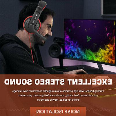 Ergonomic Stereo Sound Headphone PS4 Cell