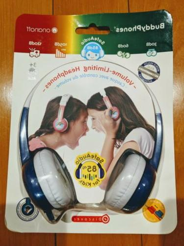 new volume limiting wired kids headphones safe