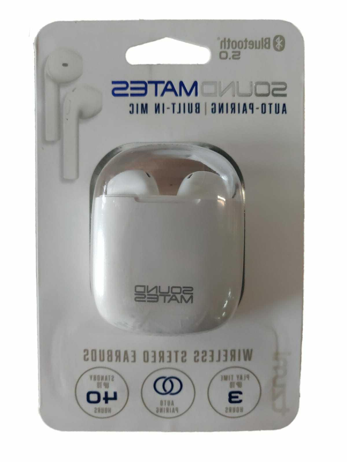 Tzumi Sound Mates Earbuds 5.0 Charging NEW!