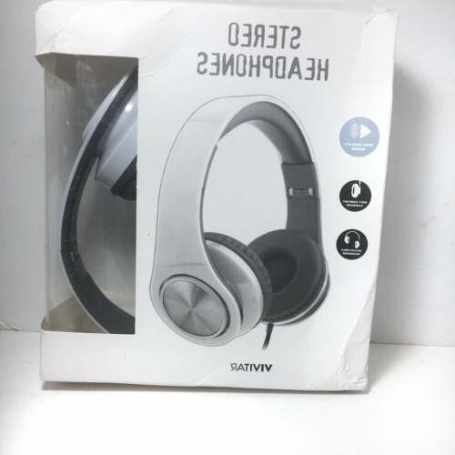 stereo headphones high quality sound for kids
