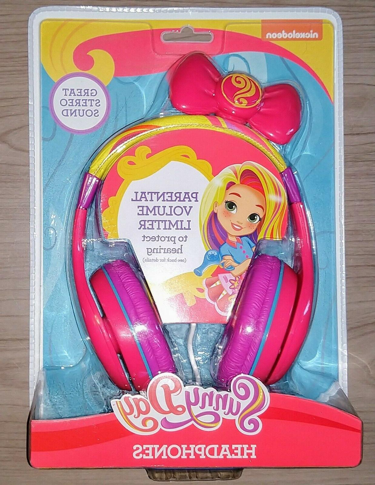 Nickelodeon. Sunny Day Headphones with Built in Volume Limit