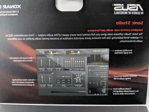 ASUS Channel USB Sound and Headphone Amplifier SHIPPING*