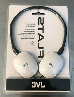 NEW JVC Audio Headphones Compatible with Iphone-Ipod-Ipad Wh