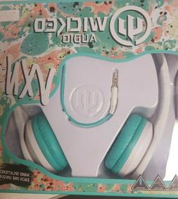 NIB SEALED Wicked Audio VXN  Wired Headphones Frost White Aq
