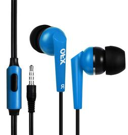 Noise Isolating Stereo Earphones QFX Stereo Sound H-55