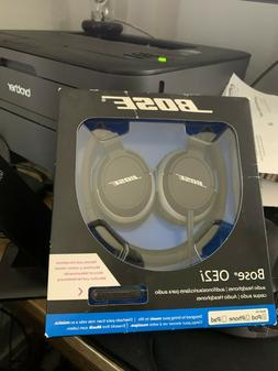 Bose OE2i Headset - Stereo - Black - Mini-phone - Wired - Go