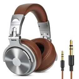 Over Ear Headphone, Wired Premium Stereo Sound Headsets w 50