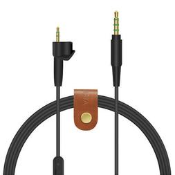Geekria QuickFit Audio Cable with Mic for Bose Around-Ear AE