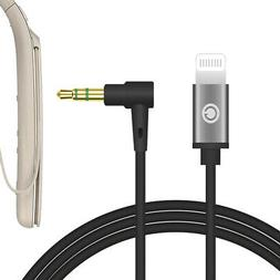Geekria QuickFit Lightning Audio Cable for Sony WI-1000XM2 H
