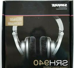 SHURE Reference Studio Headphone SRH940 Monitor Model Headph