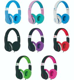 ROCKPAPA Wired Audio Stereo Foldable Stretchable Kids Headph